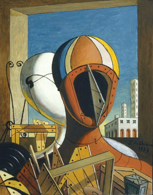 ef0e9e99-0c5e-4f9b-aa06-a083495f725b-giorgio-de-chirico-le-maschere-1959-oil-on-canvas-cm-50-5x40